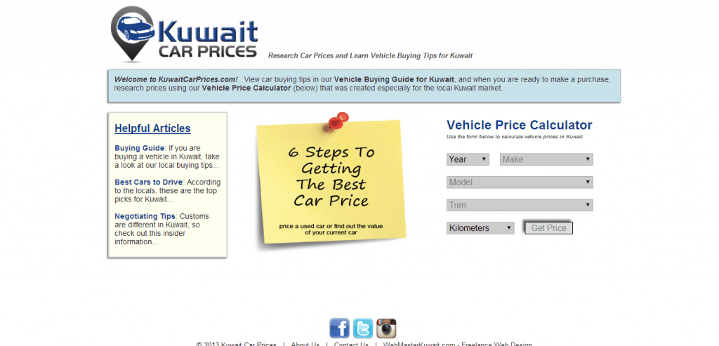 Car Prices in Kuwait