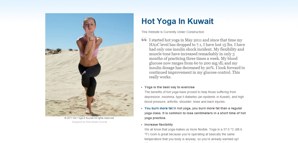 Hot Yoga In Kuwait