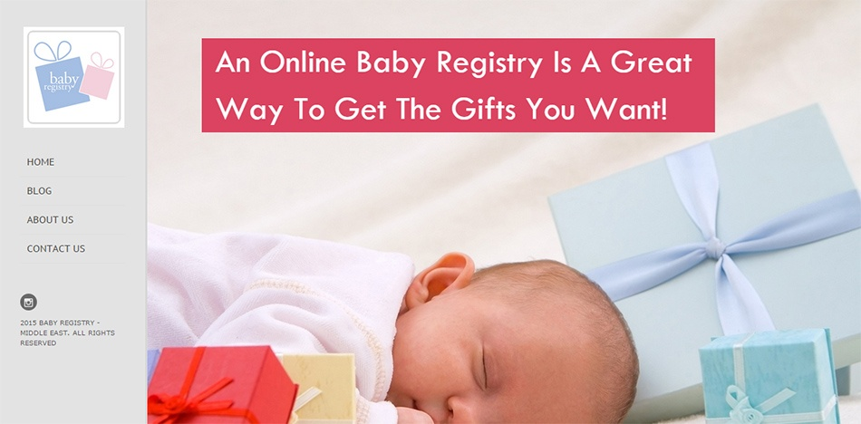 Baby Registry - Middle East